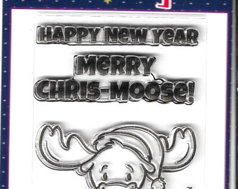 Your Next Stamp -- Merry Chris-moose -- NEW  -- (#4113)