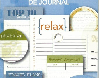 Travel Journal Tablet  --  Tell Your Story  --  NEW  --  Deja Views --  18 tags  --  (#1274)