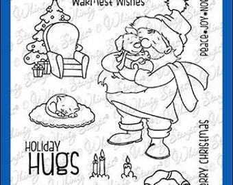 Whimsy Stamps --    Warm Fuzzies  -- NEW  -- (#4095)