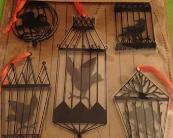 Jolee's Boutique -- Crows in Cages  -- NEW -- (#1804) Halloween