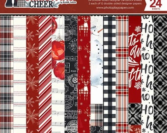6 x 6 Paper Pad ~ Christmas Cheer ~ Double sided NEW (#3783)