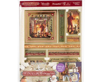 Hunkydory  --  The Magic Of Christmas  -- NEW -- (# 3301) Christmas Card Making
