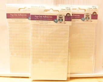 Forever In Time  --  Adhesive Foam Mount Squares   --  NEW  --  (#3327B)