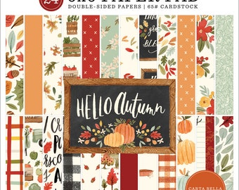 6 x 6 Paper Pad ~ Hello Autumn ~ Double sided NEW (#3868)