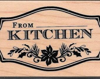 From the Kitchen Of Stamp --   NEW  --  Inkadinkado Brand --   (#2791)