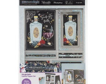 Hunkydory  --  Gin-gle Bells  -- NEW -- (# 3302) Christmas Card Making