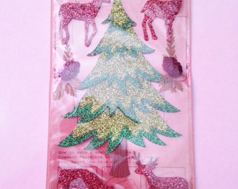 Jolee's Boutique -- Winter Trees with Deer -- NEW --  (#1767)
