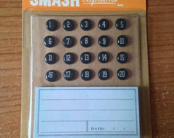 K & Company  -- SMASH captions  -- NEW --  planner accents  (#1759)
