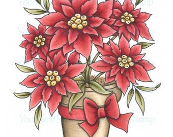 Your Next Stamp -- Penny's Poinsettias -- NEW  -- (#2600)