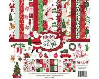 12 x 12 Collection Kit ~ Merry & Bright  ~    NEW  (#4030)