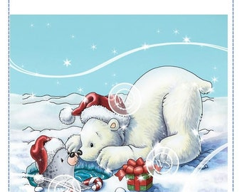 Whimsy Stamps --   Polar Bear and Seal  -- NEW  -- (#2902)