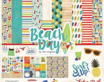 12 x 12 Collection  ~    Beach Day Kit ~      NEW  (#3920)