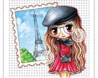Whimsy Stamps -- Dreams of Paris -- NEW -- (#2467)