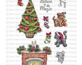 Your Next Stamp --  Cozy Christmas  -- NEW -- (#4166)