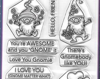 Your Next Stamp --    Happy Gnomies   -- NEW -- (#4120)