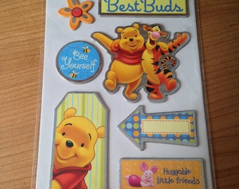 Sandylion - Winnie The Pooh -- NEW --  Chipboard Stickers -- (#1763)