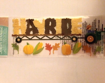 Jolee's Boutique Brand  --  Hayride Title   --   NEW  --   (#1826)
