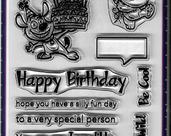 Your Next Stamp --  Silly Fun Birthday  -- NEW -- (#3688)