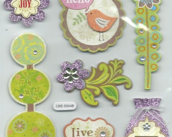 Special Moments Brand  --   Dimensional Stickers  --  Whimsy  --  NEW  (#1196)