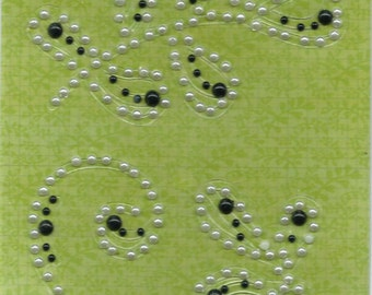 Colorbok --  English Moss Collection   --  self adhesive  pearl accents -- NEW  --   (#865)