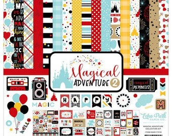 12 x 12 Collection Kit ~    Magical Adventure #2   ~      NEW  (#4244)
