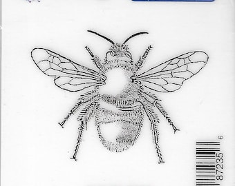 Deep Red Cling Stamps --    Bumblebee    -- NEW -- (#3836)