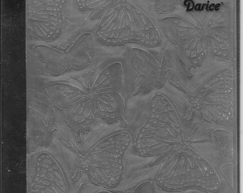 Darice Embossing Folder -- New -- Butterflies -- (#3048)
