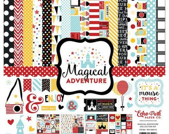 12 x 12 Collection Kit ~    Magical Adventure    ~      NEW  (#4243)