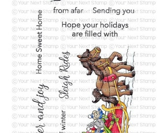 Your Next Stamp --  Sleigh Ride  -- NEW -- (#4167)