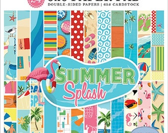 6 x 6 Paper Pad ~ Summer Splash ~ Double sided NEW (#2759)