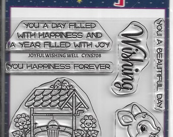 Your Next Stamp -- Joyful Wishing Well -- NEW  -- (#4115)