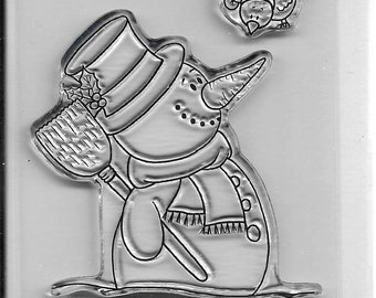 Gerda Steiner Designs --  Happy Snowman  -- NEW -- (#3204)