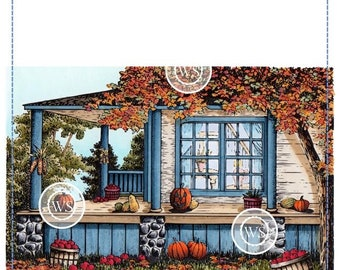 Whimsy Stamps -- Country Porch -- NEW -- (#2871)