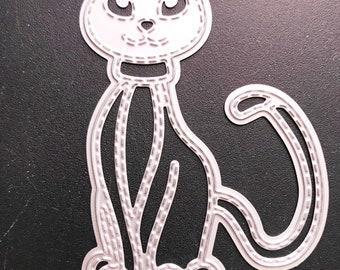 Cat Metal Cutting Die  -  NEW  (#3425)