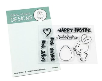Gerda Steiner Designs -- Brush Bunny  -- NEW -- (#3572)