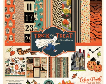 12 x 12 Collection Kit ~    Trick Or Treat  ~      NEW  (#3922)
