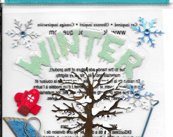 Jolee's Boutique -- Winter -- NEW --  (#3078)