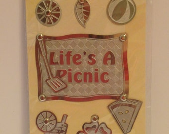 American Tradition Brads --  Life's a Picnic   -- NEW  --  (#1391)