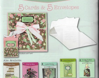 Hot Off the Press  -  Pull Up - NEW - (#3424) Card Making Kit