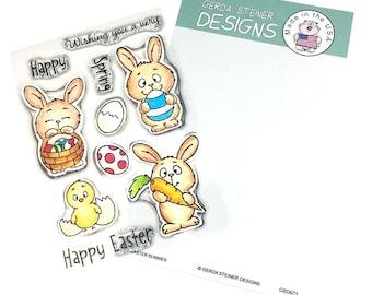 Gerda Steiner Designs --  Easter Bunnies  -- NEW  -- (#3579)