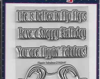 Your Next Stamp -- Flippin' Fabulous -- NEW  -- (#4118)