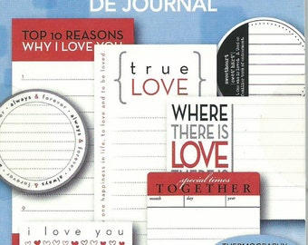 Love Journal Tablet  --  Tell Your Love Story  --  NEW  --  Deja Views --  18 tags  --  (#1272)