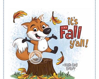 Whimsy Stamps --Fall Fox  -- NEW -- (#2518)