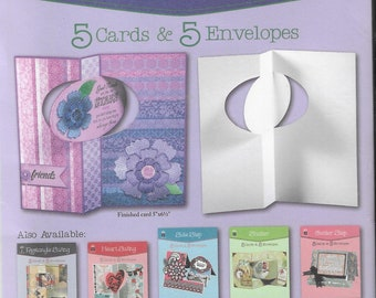 Hot Off the Press  -  Oval Swing - NEW - (#3423) Card Making Kit