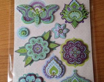 K & Company Grand Adhesions -- Lily Ashbury IG Icons -- NEW -- dimensional stickers  (#1714)