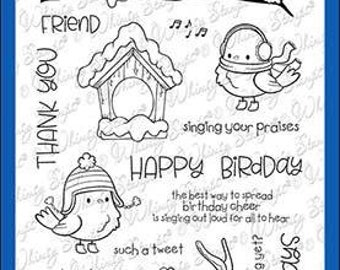 Whimsy Stamps --  Tweetie Pie   -- NEW -- (#4014)