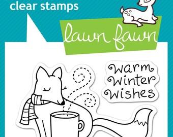 Lawn Fawn --  Winter Fox   -- NEW -- (#4170)