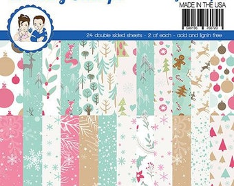 6 x 6 Paper Pad ~   Cozy Winter   ~ Double sided NEW (#3983)