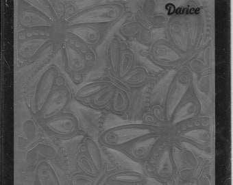Darice Embossing Folder -- New -- Butterflies #2 -- (#3053)