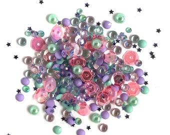 Buttons Galore -- Sparkletz  --  MERMAID  -- NEW  (#3700)